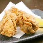 菜彩鶏の唐揚げ(3ヶ)