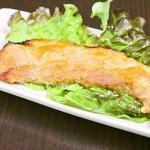 豚バラ肉の味噌漬け焼き