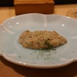 鮨人 - 岩牡蠣のフルーチェ(笑)