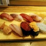 江戸前寿司 ちかなり - 土日祝限定の握り特別ランチは9貫で2000円(税込)