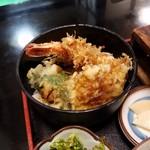 大福 - 「福」は、えび・いも・なす・ピーマンのミニ天丼