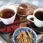 おかげさま - 食後のコーヒー&紅茶