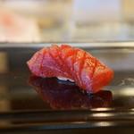 太平寿し - 赤身のヅケ