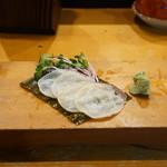 小政寿司 - タコの昆布締め