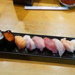 小政寿司 - 料理写真:お任せの握り