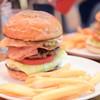 BURGER&MILKSHAKE CRANE - 料理写真:エッグベーコンバーガー@1,300円