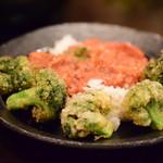 Rojiura Curry SAMURAI. - サクサクブロッコリー/トマトキーマは、ライスにオン。