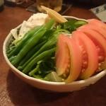 まんぎょく - 野菜の盛り合わせ