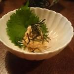 まんぎょく - ウニ豆腐