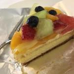 Cafe flour - 料理写真:フルーツガーデンタルト
