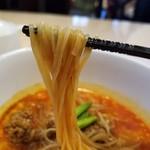 あいば - 麺との相性も良いスープ