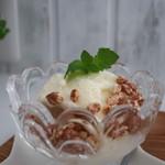 エンジェル カフェ - 豆乳アイス&玄米チョコパフ