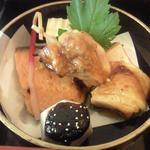 京ぜん - 料理写真:鶏の山椒焼き