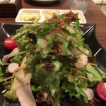 メゾンカイザーカフェ - 鶏胸肉のサラダ