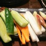 91141821 - 地酒がハビコル生野菜