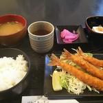 びわこキッチン - えびフライ定食