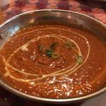 インド&ネパール料理ナマステ - キーマカレー 4辛 もっと辛くても美味しいかも。