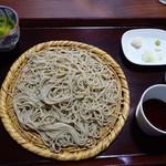 浅田 - 料理写真:十割ざるそば1100円