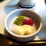 食処恵乃喜 - お漬物