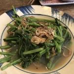 チョップスティックス - 季節の青菜とにんにく炒め
