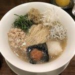 創作麺工房 鳴龍 - 夏季限定「冷し梅塩拉麺」900円