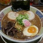 たかし - 【魚力ラーメン + 味玉(半玉)】¥780 + ¥60