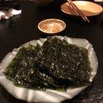 炭とん - 韓国海苔
