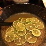 炭とん - 柚子冷麺