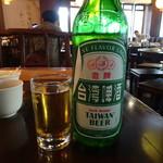 點水樓 - 台湾ビール(瓶)(130元)