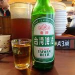 度小月 - 台湾ビール(100元)