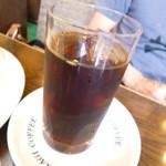 高木珈琲店 - 夫はアイスコーヒーを。