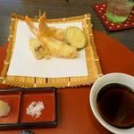 和楽 - 天ぷら盛り合せその1