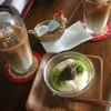 お豆ふ処うめだ屋 - 料理写真:おとうふプリン アイス豆乳ラテ