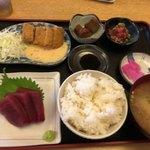 まぐろ三昧那智 - マグロづくし定食(1880円)