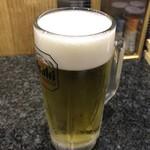 91155713 - 生ビール アサヒスーパードライ 500円(税抜)