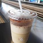 オブロスコーヒー - アイスカプチーノ