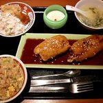 Haruka - 20180818遙華名物 黒酢の酢豚スペシャルランチ