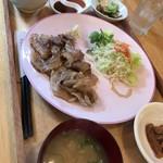 カフェ うりむぅ - 丹波、山の幸セット1480円