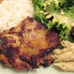 ROOM kochu - 【ランチ】 240gの鶏もも肉を使った チキンステーキ