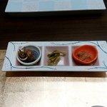 鮨 たかん - 料理写真:お通し