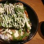 きたみなと - 道産豚の炙り焼き丼 1,210円