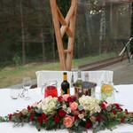 WEE BEE'S - 新郎新婦のテーブル