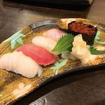 91165087 - 【2018年07月】〆の寿司。