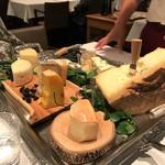クリマ ディ トスカーナ - チーズプレート