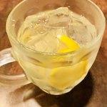 鉄板肉酒場 LOVE&29 - 丸ごとレモンサワー