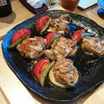 響 - 紀州うめどりとトマトの鉄板焼き