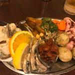ポッツォーリ - 前菜盛り合わせ 小 1530円