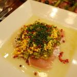 レトノ - 錦爽鶏 胸肉のたたき カルパッチョ