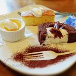 味珈房 櫻 - 料理写真:ケーキ3種盛合わせ