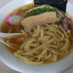 91169178 - 朝ラー:京都テイガクの平麺
